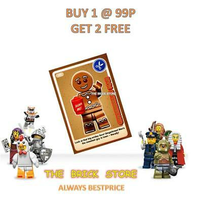 Lego - #105 - Gingerbread Man - Create The World Trading Card + Free Gift - New