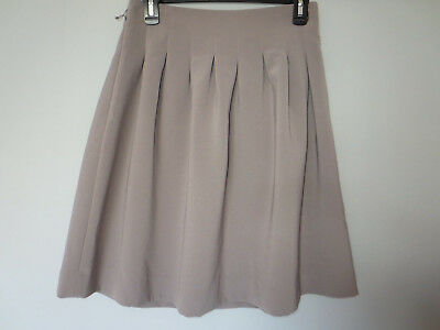 215dffa278 NWT H&M GRAY Pleated Skirt 8 - $10.00 | PicClick