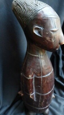 "orig $499-MANGBETU RELIQUARRY FIGURE!! EARLY 1900S REAL 20"" PROV."