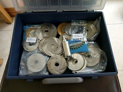 Metal cutting disc's Job Lot of 90 various sizes See Pics all unused