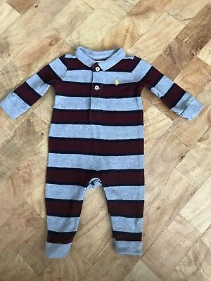 Ralph Lauren Baby Boys All In One Suit Babygrows 3 Months