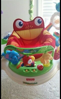 Fisher-Price Fisher-Price Roarin' Rainforest Infant Jumperoo Toy Baby Stand