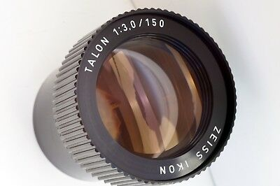 Zeiss Ikon Talon 3/150mm 6x6 image size German quality projection lens block
