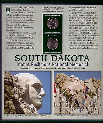 2013 South Dakota State Quarter's &  Stamp's - Mint Collector Set ID : 4600