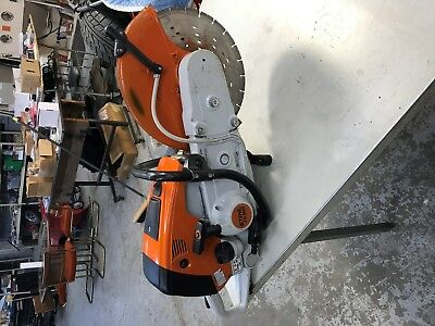 Stihl TS 700 Concrete cut off chop rebar metal saw