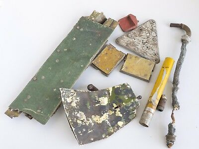 Junkers Ju 87 or He 111 Skin, Fragments and Parts ww2 Eastern front