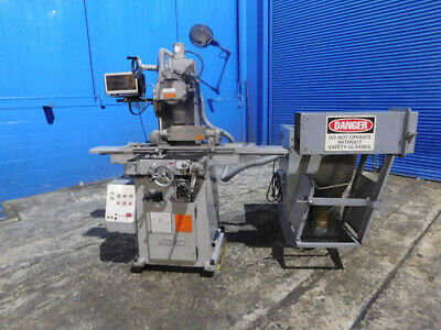 """6""""x 23"""" Nicco Automatic 3 Axis Metal Surface Grinder W Rotary Chuck DRO"""