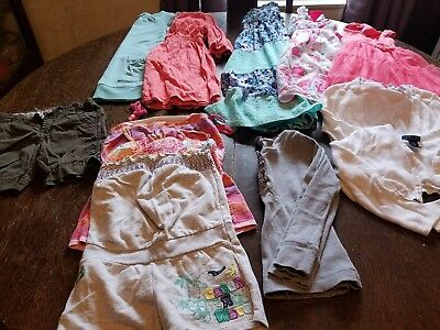 Lot of Girls Size 5 Clothing 12 Pieces including 5 dresses See Pictures