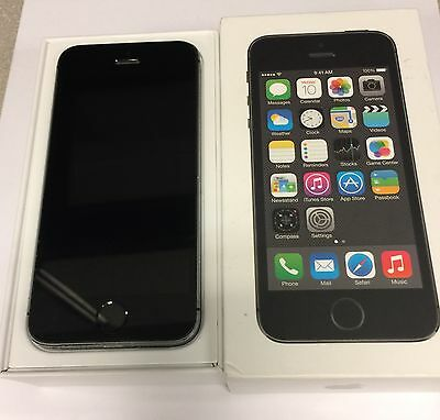 Apple iPhone 5s 16 GB Space Gray Factory Unlocked