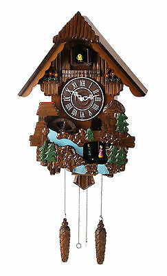 "16"" Deluxe  Windmill Dancers Cuckoo Clock, Home Decor Turning Dancers -C00166"