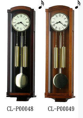"36"" Tall Deluxe Solid Wood Cherry Pendulum Clock Westminster 4*4 Chime - P048/49"