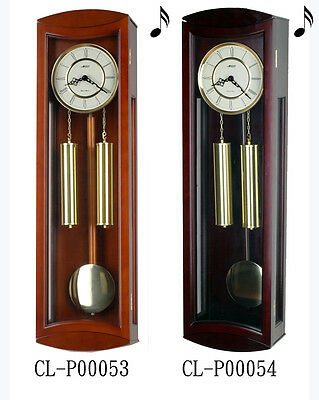 "30"" Tall Deluxe Solid Wood Cherry Pendulum Clock Westminster 4*4 Chime-P53/54"