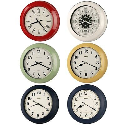 17-inch Jumbo Simply Modern Style Quality Made Thickish Heavy Metal Wall Clock,