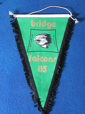 Vintage Speedway Pennant - Exeter Falcons - 1985