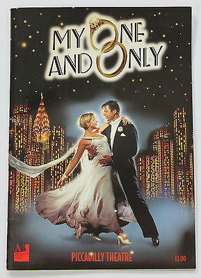 My One & Only (musical) programme - Piccadilly Theatre 1990s.  GERSHWIN