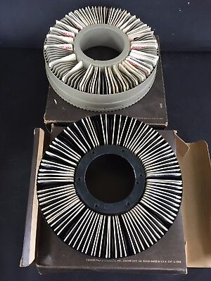 LOT OF 2 ROTARY SLIDE TRAYS 100 S 2 x 2 With SLIDES