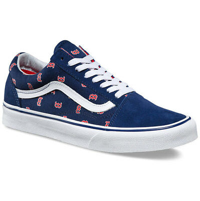Boston Red Sox Vans Old Skool MLB Shoes!