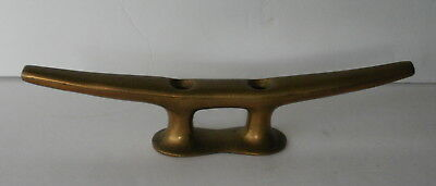 """8"""" Brass Boat Cleat - Hardware"""