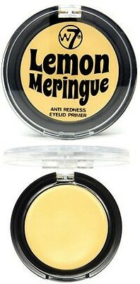 W7 Lemon Meringue Anti Redness Eyelid Primer Eye Shadow Base 2g