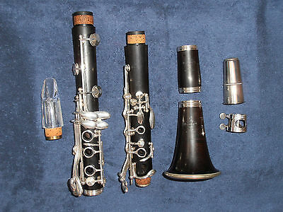 Clarinet   Bb (wood) : Buffet Crampon  S1 /  R13 (18/6) & Pomarico