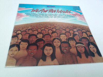 "Usa For Africa ""we Are The World"" Maxi 12"" Spanish Vinyl Ex/ex"