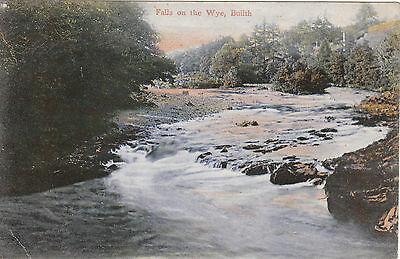 Falls On The Wye, BUILTH WELLS, Breconshire