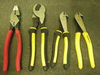 (4) Southwire SCP9CD, CCP9, DCP8, DCP8D High Leverage Cable Cutters - #30T.78 #6