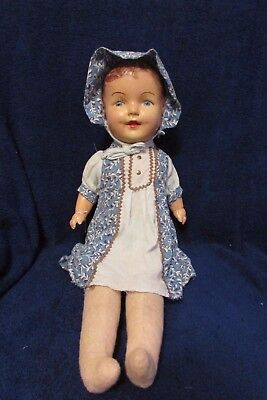 Antique Composition and Cloth Doll