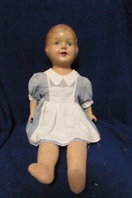 Antique Composition Nurse Doll by Reliable Toy Company