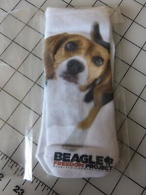 1 Pair / Beagle Socks  From The Beagle Freedom Project Fits Child Or Adult Size