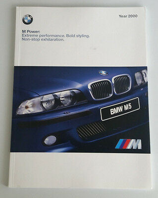 Bmw M Cars Brochure 2000 M5 M Coupe M Roadster E39 E36 Collectible Advertising