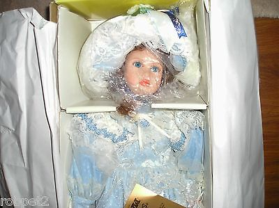 """Seymour Mann Connoisseur Collection 20""""  Porcelain Doll, Signed, numbered,"""