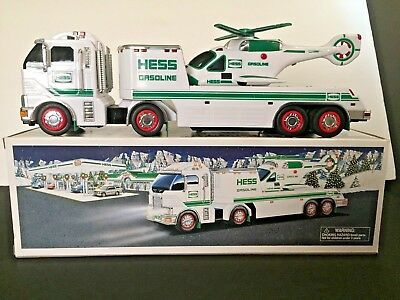 Hess Toy Truck And Helicopter - 2006