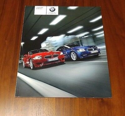 Bmw Z4 M Roadster M Coupe 2006 Brochure E85 E86 Collectible Advertising