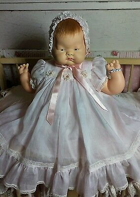 Vintage Vogue Baby Dear Doll With Beautiful Clothes And Bracelet!!!!