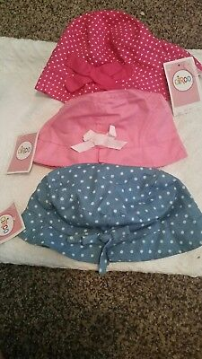 112 NWT Circo infant toddler girls summer hat lot 12-24 mth/ 2T-5T resale/donate