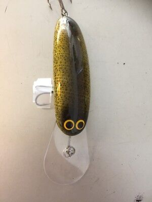 Custom Crafted Hammerhead 110mm Murray Cod Lures Yellowbelly Aussie Made Timber