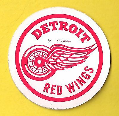 """Vintage Detroit Red Wings NHL Decal Sticker 2 5/8"""""""