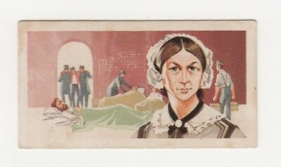 Nursing Card - Brooke Bond - Florence Nightingale