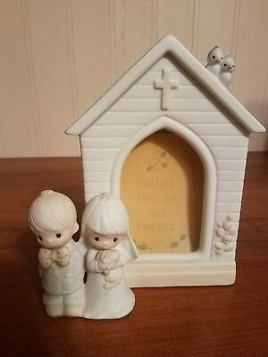"""Precious Moments wedding frame """"May the Lord bless you and keep you"""""""