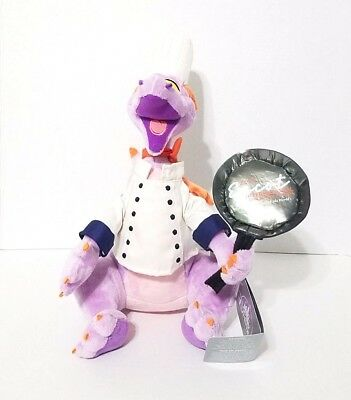 "Disney Parks 2017 Epcot Food & Wine Festival Figment Chef Purple 12"" Plush"