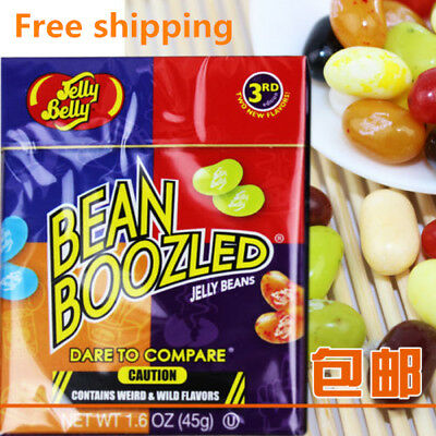 Bean Boozled Beans Crazy Sugar Adventure Tricky Game Harry Potter Jelly bean