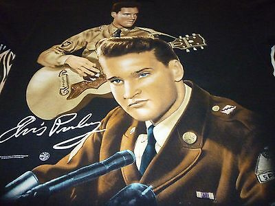 Elvis Presley Vintage 1996 Shirt ( Used Size L ) Very Good Condition!!!