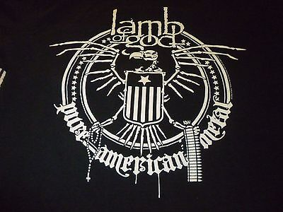 Lamb Of God Tour Shirt ( Used Size M ) Nice Condition!!!