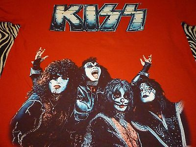 Kiss Shirt ( Used Size L ) Used Condition!!!