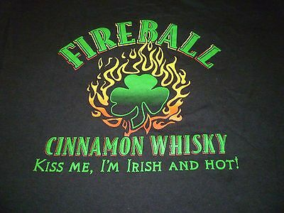 Fireball Whisky Shirt ( Used Size L  ) Nice Condition!!!
