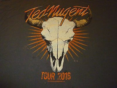Ted Nugent Shirt ( Used Size XL ) Used Condition!!!