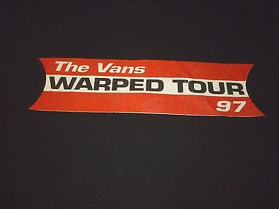 Vans 97 Tour Shirt ( Used Size XL ) Good Condition!!!