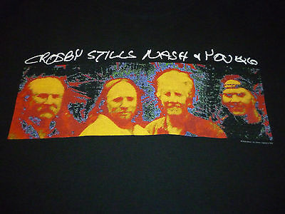 Crosby Stills Nash & Young Vintage Shirt ( Used Size XL ) Very Good Condition!!!