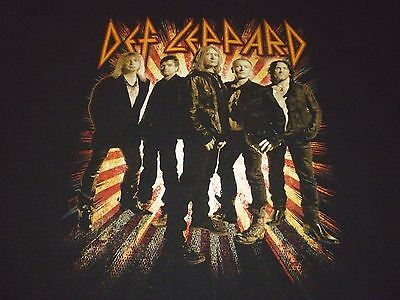 Def Leppard Tour Shirt ( Used Size XL ) Very Good Condition!!!